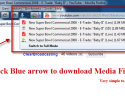 Flash Video Downloader - Youtube Downloader - Firefox