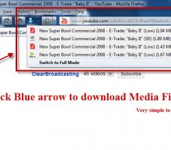 Flash Video Downloader - Youtube Downloader - Firefox