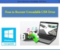 How to Recover Unreadable USB Drive 4.0.032