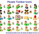 People Toolbar Icons 2013.1