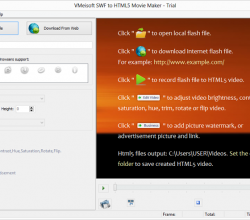 VMeisoft SWF To HTML5 Movie Maker 1.1.3.5
