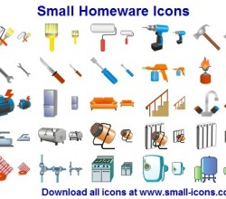 Small Homeware Icons 2013.1