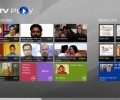 NDTV Play for Win8 UI