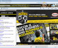 Columbus Crew MLS Firefox Theme 0.9.2