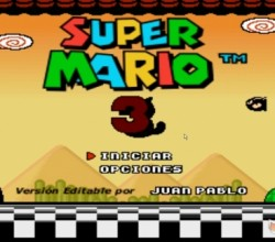 Super Mario Bros 3 Editable 9.2