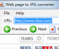 Web Page To JPG Converter 4.1