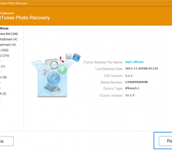 Potatoshare iTunes Photo Recovery 6.0.0.0