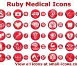 Ruby Medical Icons 2013