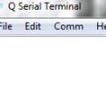 Q Serial Terminal 1.00