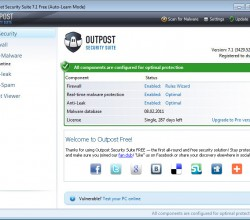Agnitum Outpost Security Suite Free (64-bit) 7.1.1