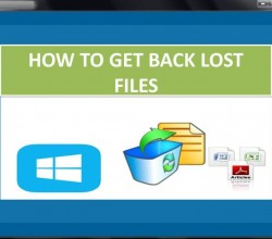 How to Get Back Lost Files 4.0.0.32