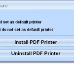 Cheap PDF Printer Software 7.0