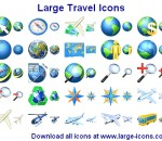 Large Travel Icons 2013.2