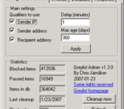 JEP(S) Greylist 2.4.0.3