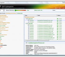 ESET SysInspector (32 bit) 1.2.034.0