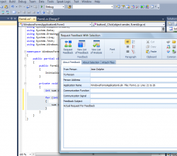 Speak Logic Information Analysis for Visual Studio 2012