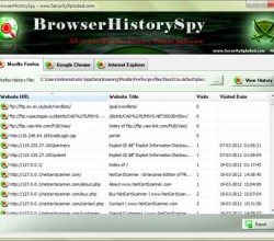 Browser History Spy 3.0