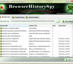 Browser History Spy 3.0