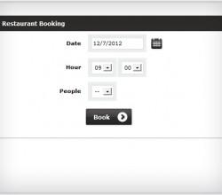 Restaurant Booking System by StivaSoft 1.0