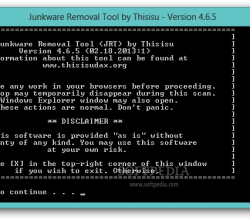 Junkware Removal Tool 4.9.2