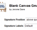 Blank Canvas Gmail Signatures 1.15.1