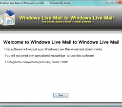 Windows Live Mail to Windows Live Mail 1.3.1.0