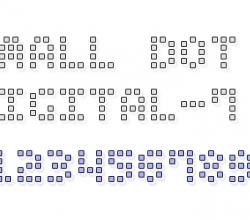 Small Dot Digital-7 1.0