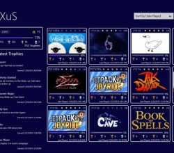 PS3 Trophies for Win8 UI