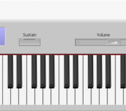 PC 73 Virtual Piano Keyboard 1.0