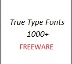 Free True Type Fonts 1000+ 1.1
