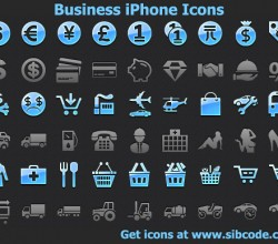 Business iPhone Icons 2012.2