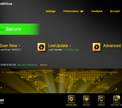 Norton AntiVirus 2012 19.8.0.14