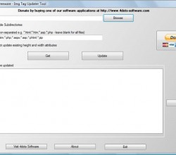 Free Html Img Tag Updater Tool 2.5