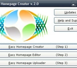 Easy Homepage Creator 2.0
