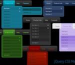 jQuery CSS Menu Style 06 1.5