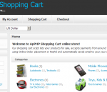ApPHP Shopping Cart ecommerce software 3.8.4