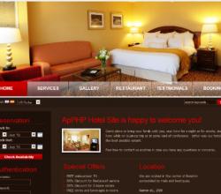 ApPHP Hotel Site web reservation system 4.2.9