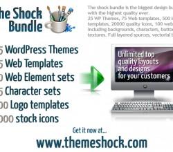 WordPress Themes The shock bundle 1