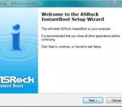 ASRock Instant Boot 1.29