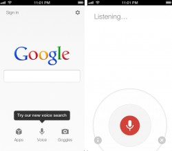Google Voice Search for Android