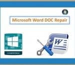 Microsoft Word DOC Repair 2.0.0.24