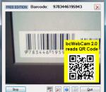 bcWebCam Read Barcodes with Web Cam 2.2.0.9
