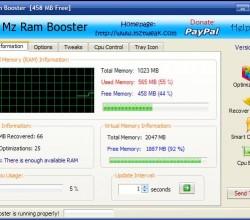 Mz Ram Booster 4.1.0