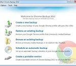 Backup for Chrome 2012