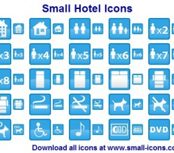 Small Hotel Icons 2013.1