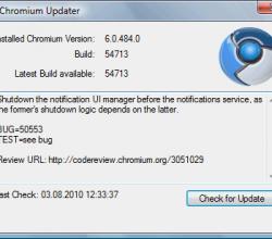 Chromium Updater - Google Chrome