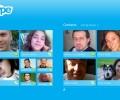 Skype for Win8 UI