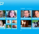 Skype for Win8 UI