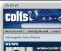 Indianapolis Colts NFL Firefox Theme 1.05