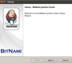 BitNami Jenkins Stack 1.558
